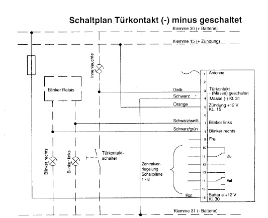 FunkZentralVerriegelung --- Toyota Corolla E10 (Liftback) :::.....